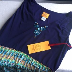 Ruby Rd. Dresses - NWT Ruby Rd. Colorful summer Maxi dress sz S